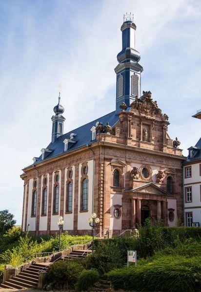 Barocke Schlosskirche in Blieskastel