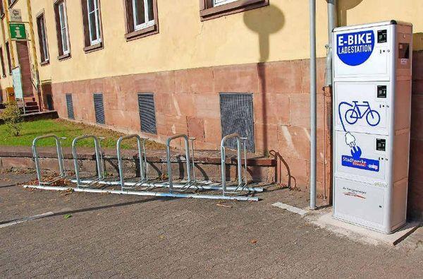 E-Bike Station Bürgerhaus Blieskastel