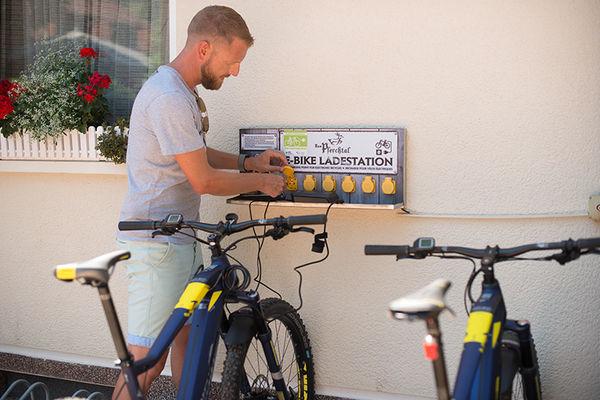 Pferchtal Blieskastel - E-Bike Station