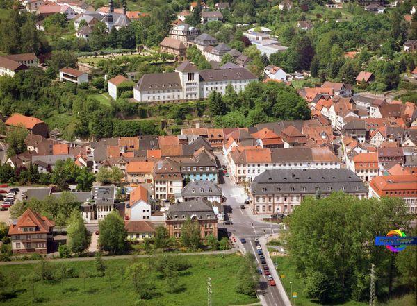 Altstadt Blieskatel, Luftbild