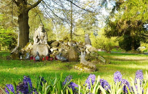 Heiliger Franziskus im Klosterpark