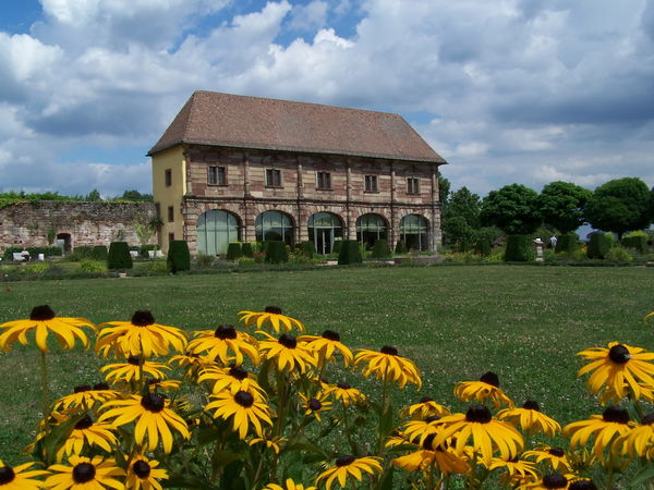 Orangerie mit Barockgarten, Blieskastel