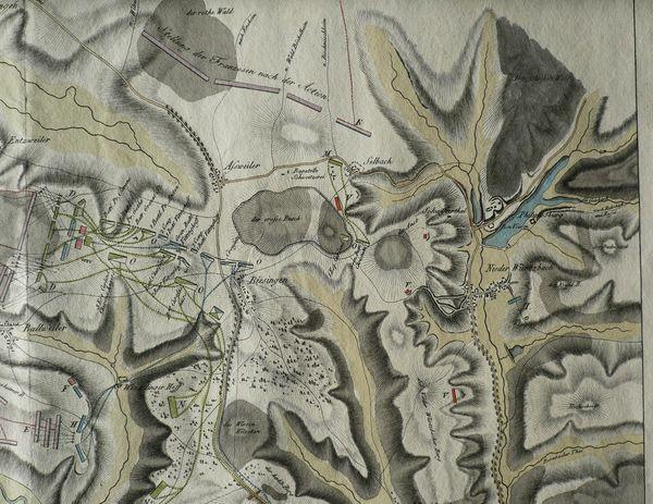 Historische Karte der Park Bagatelle Aßweiler-Seelbach