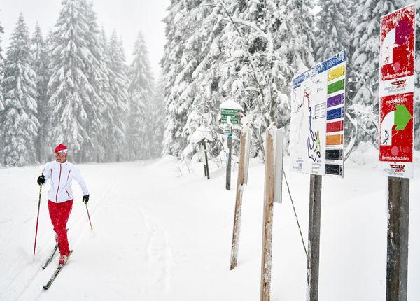 Aktivzentrum Bodenmais am Bretterschachten im Bayerischen Wald