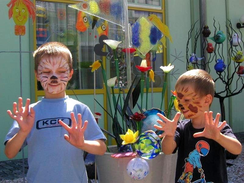 Wenn bei JOSKA-Kristall in Bodenmais Kinderlandtag ist, haben die Kids jede Menge Spaß