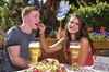 Der Biergarten im JOSKA Glasparadies