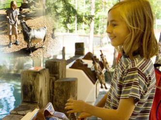 Kinder haben Spaß beim Kinderland-Erlebnispartner Silberbergbahn in Bodenmais