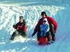 Familienspaß auf der Winterrodelbahn am Silberberg in Bodenmais