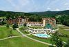 Blick auf das Hotel Mooshof im Urlaubsort Bodenmais im ArberLand Bayerischer Wald