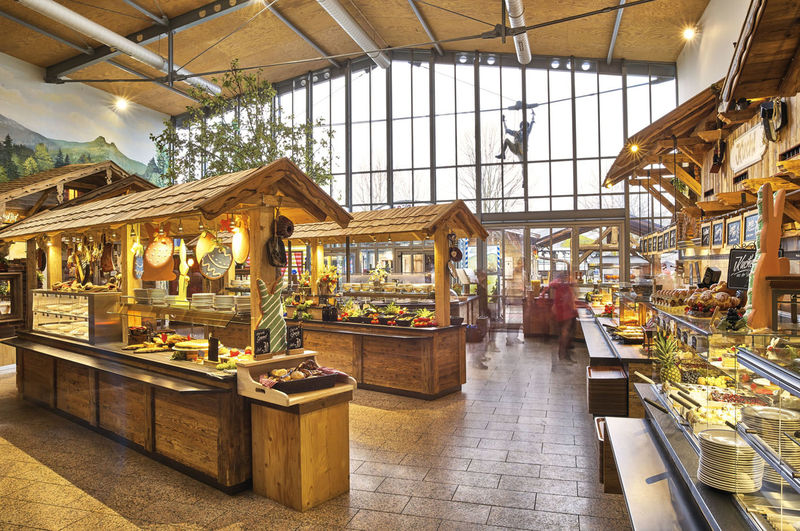 Kristall-Restaurant im JOSKA Glasparadies
