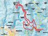 Streckenverlauf der Rundkursloipe im Aktivzentrum Bodenmais