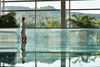 Silberberg Hallenbad mit Panoramablick zum Silberberg