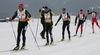 Rennläufer auf der Strecke beim Skadi Loppet im Aktivzentrum Bodenmais im Bayerischen Wald