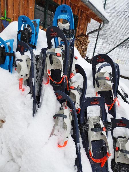 Schneeschuhverleih in der Sport-Alm