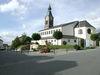 Blick auf die Pfarrkirche ST. NIKOLAUS in Böbrach im ArberLand Bayerischer Wald