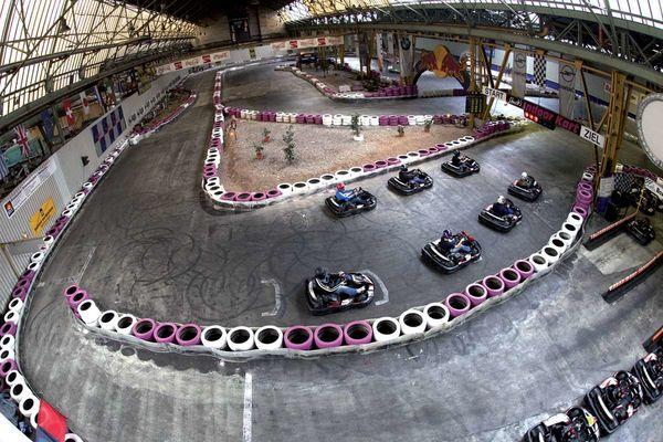 Indoor Kartbahn Bous