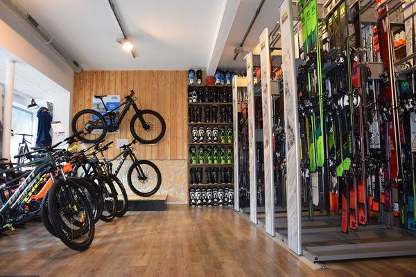 Ski- und Fahrradverleih