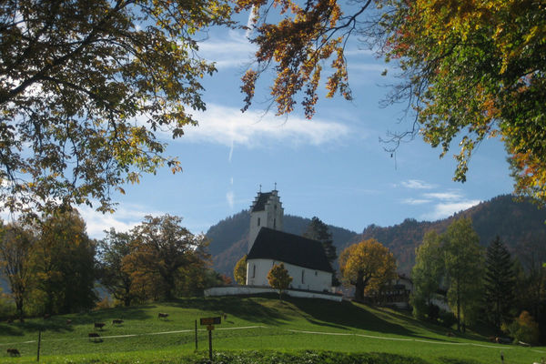Kirche St. Margarethen in Brannenburg