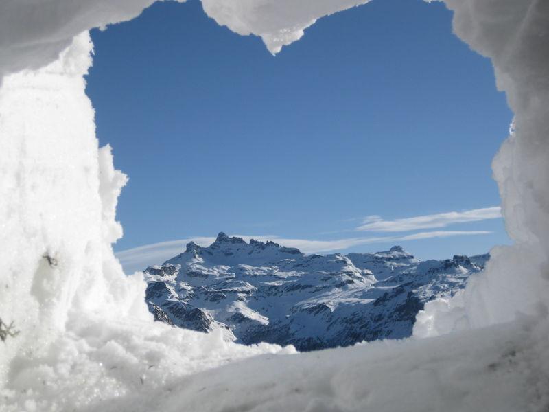 Erlebnisweg mit Eisgalerie
