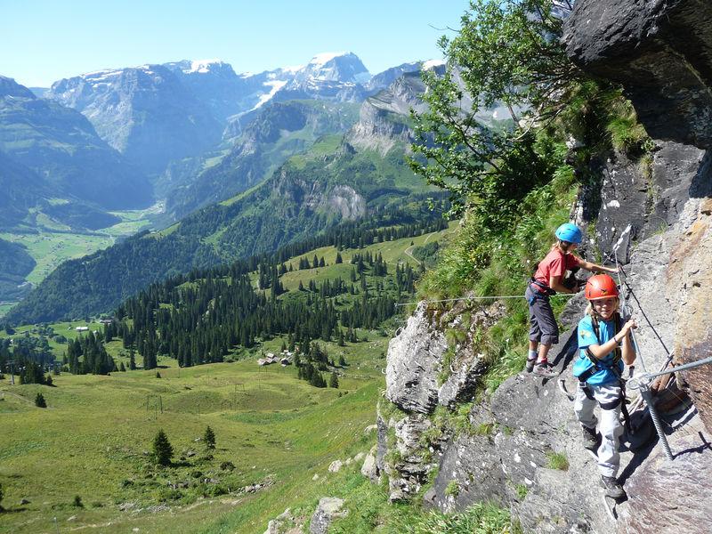 Klettersteig Braunwald : Klettersteige braunwald