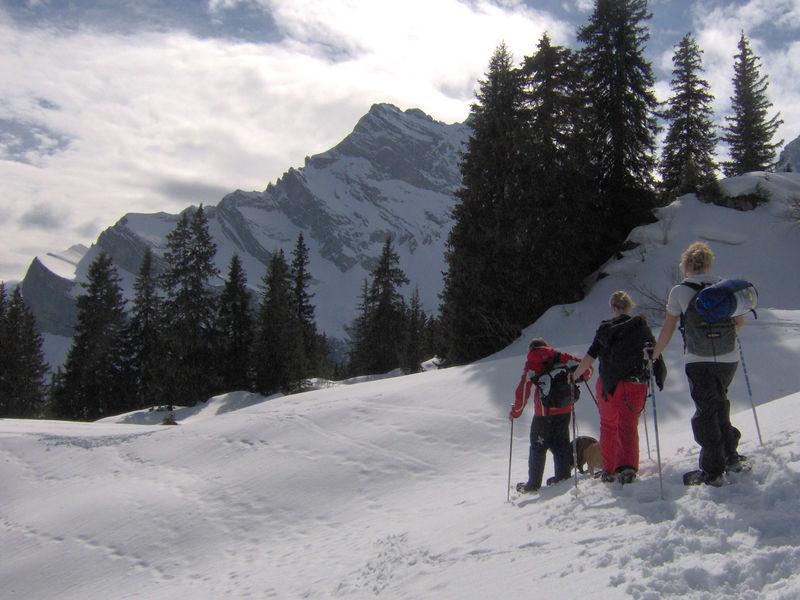 Schneeschuhtrail Mattwald