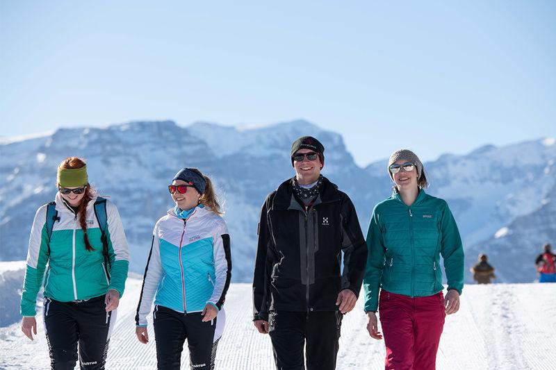 Mattwald snowshoe trail