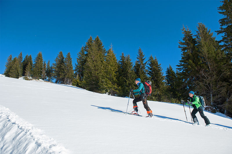Skitour Ortstock
