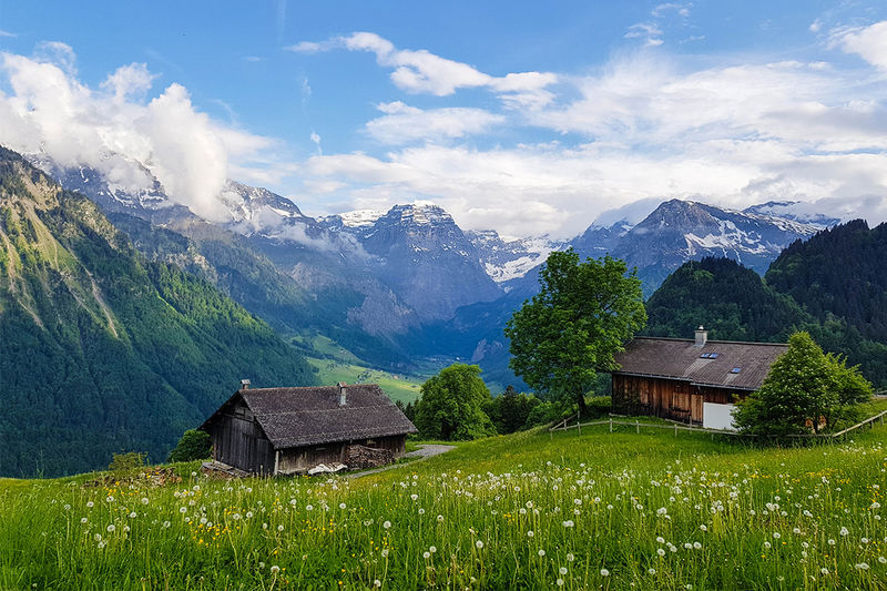 Talwanderung Braunwald-Linthal