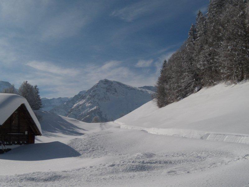 Winter-Wanderung zum Nussbüel