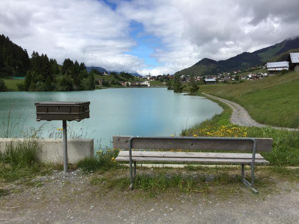 Lesebank Brigelser See