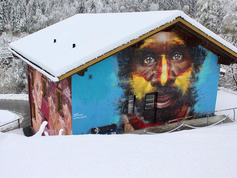 Hostel Autra Caussa im Winter