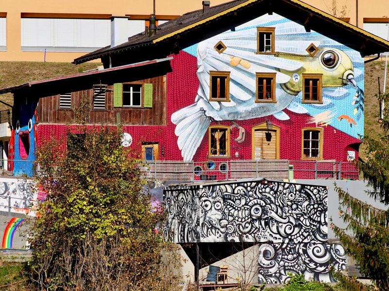 Hostel Autra Caussa im Herbst