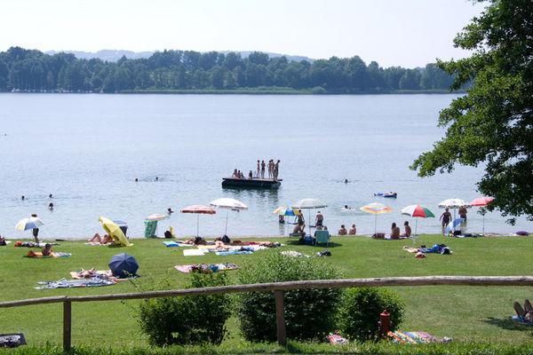 Strandbad Breitbrunn.