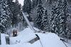 Skisprungschanze in Rastbüchl bei Breitenberg