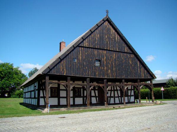 Vorlaubenhaus Pilgram, Foto: Amt Odervorland