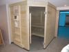 Renovierte Sauna