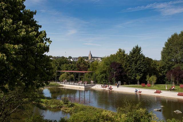 Teichanlage Kurpark Brilon