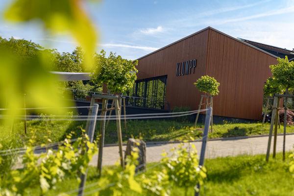 Außenfassade Weingut Klumpp