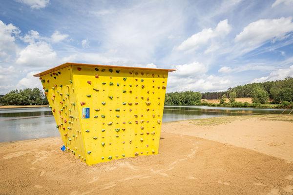 Boulderwand: Kletterspaß garantiert