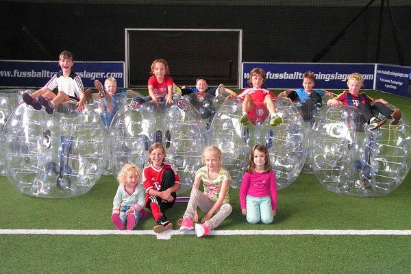 Kindergeburtstag im Bubble Soccer