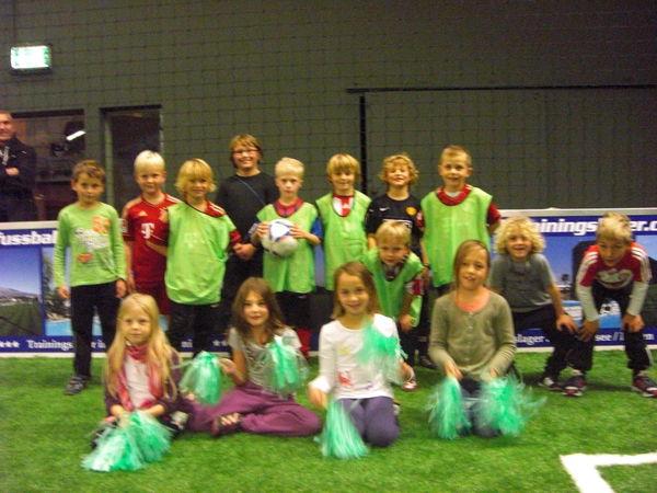 Kindergeburtstag im Indoor Soccer