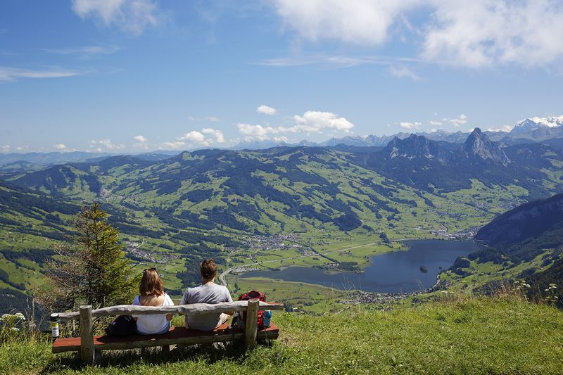 Rigi ridge trail