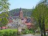 Blick auf Buckow in der Märkischen Schweiz, Foto: Beator