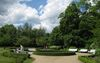 Gleich hinter der Tourist-Info Buckow befindet sich der Eingang zum Schlosspark, Foto: Archiv Kultur- und Tourismusamt Märkische Schweiz