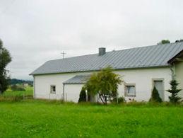 Blick auf die Evangelische Kirche CHRISTUS-KAPELLE in Büchlberg