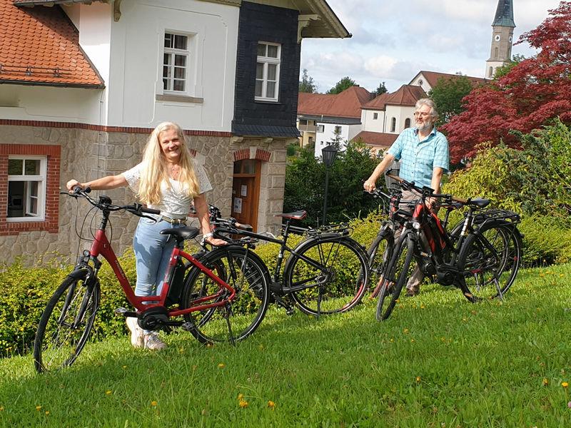 eBike-Verleih in der Tourist-Info Büchlberg