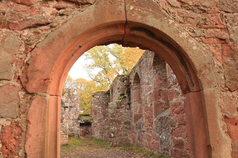 Überreste der einsitgen Kapelle