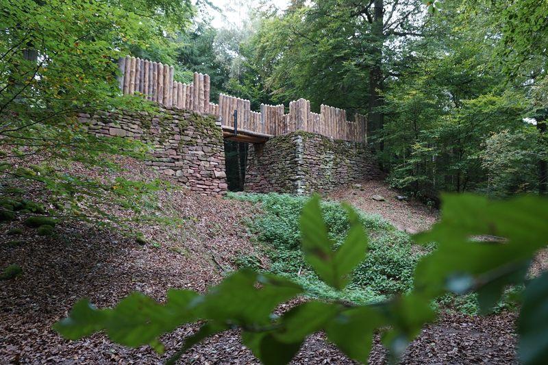 Rekonstruktion einer Ringwallanlage auf dem Wannenberg