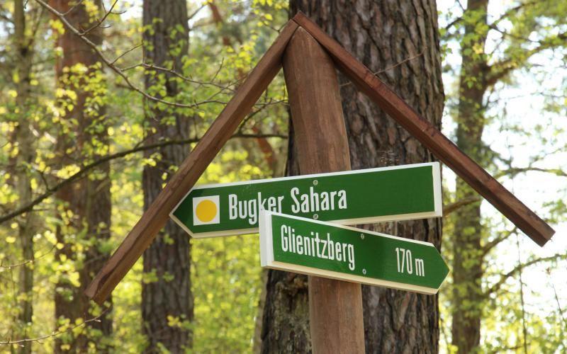 Rundwanderung Bugk und seine Sahara