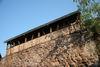 Reste der Stadtmauer mit Wehrgang